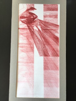 The light that passes through the body, Etching print, 2018,SOLD
